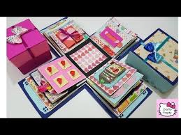 tutorial scrapbook card how to make explosion box 50 explosion box ideas explosion box