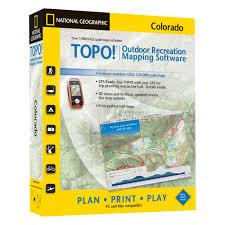 Colorado Topo Maps by Topo Colorado National Geographic Store