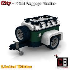 lego mini cooper custombricks de custom modell gepäckanhänger z b für 10242 lego