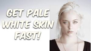 Hair Color For White Skin Get Pale White Skin Fast Subliminals Theta Frequencies Hypnosis