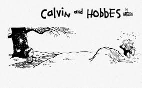 calvin and hobbes snowball misses entertainment