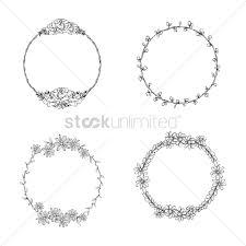 set of ornamental frames vector image 1990563 stockunlimited