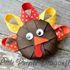 thanksgiving hair bows fall thanksgiving hair bow fashion accessory family