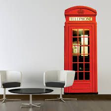 1 wall murals wake up your walls touch of modern london phone box 001