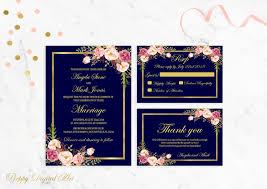 wedding invitations jacksonville fl navy wedding invitation printable navy blue wedding