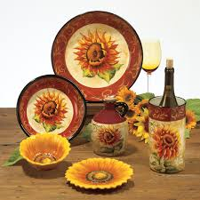 sunflower kitchen canisters this will be my kitchen dinnerware sunflower kitchen stuff