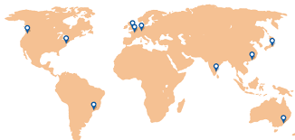 seattle map test website speed test from são paulo brazil and seattle usa