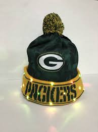 Green Bay Packers Flags Green Bay Packers Camo Print Light Up Beanie Packerland Plus