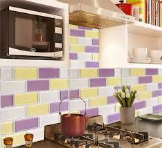 Purple Kitchen Backsplash Online Get Cheap Vinyl Backsplash Aliexpress Com Alibaba Group