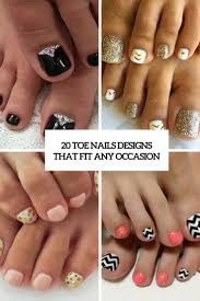 20 toe nails designs that fit any occasion styleoholic