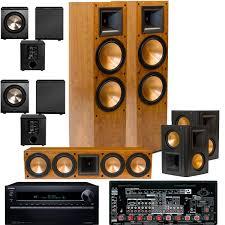 klipsch home theater speakers polk audio tsi400 5 1 home theater speaker package black home