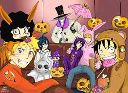 happy halloween animated images naruto anime halloween 2011 daily anime art