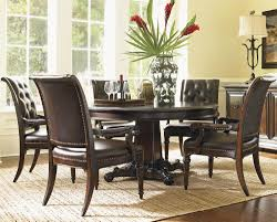 round dining room tables for 6 island traditions 6 piece dining set by tommy bahama home home