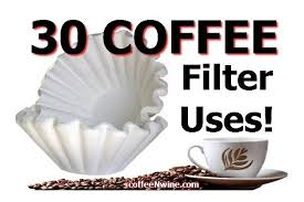 coffee filter uses 30 coffee filter uses unique ways to use your coffee filters