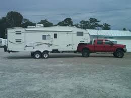 Ford Diesel Trucks Lifted - how much of a lift can i have towing a 5th wheel ford truck