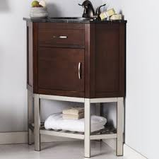 Corner Sink Vanity Corner Bathroom Vanities You U0027ll Love Wayfair