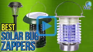 Outdoor Bug Lights by Top 6 Solar Bug Zappers Of 2017 Video Review