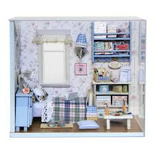 chambre pour amants mignon chambre miniature maison cadeau pour amant le puppenhaus