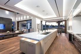 grande cuisine moderne 73 ides de cuisine moderne avec lot bar ou table manger grande