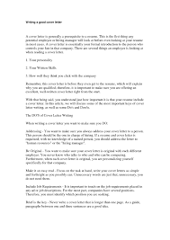 Resume Cover Letter Examples Management by Write A Good Covering Letter 10 Good Resume Cover Letter Examples