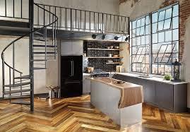 Industrial Loft Floor Plans Loft Living Room Living Room Contemporary With Open Floor Plan