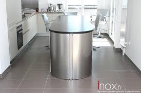 meuble cuisine arrondi meuble cuisine en inox 4 meuble arrondi en bout dilot avec portes