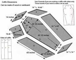how to build a coffin how to build a casket for all hallows
