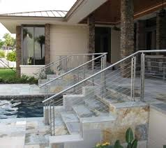 stainless steel banister rails cable railing stainless steel handrail systems
