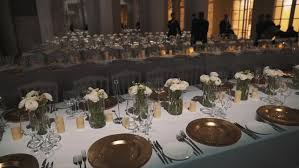 New Year S Eve Dining Table Decor by New Years Eve Party Dinner Table With Gold White And Black Theme