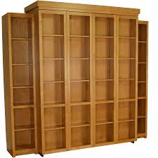 Murphy Bed Jefferson Library A Bi Fold Bookcase Wall Bed Isn U0027t Just A Bed That Saves You Space