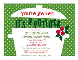 magnificent christmas invitation potluck party theruntime com