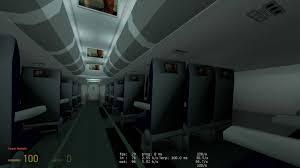 Gmod Adventure Maps Fatal Plane Crash Recorded From Inside The Plane Hl2dm Final