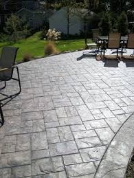 Backyard Stamped Concrete Patio Ideas Stamped Concrete This Is Really Great Would Love To Have A Patio