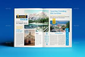 travel magazine images Travel magazine by designsoul14 graphicriver jpg