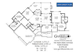 cottage house floor plans tiger creek cottage house plan house plans by garrell associates