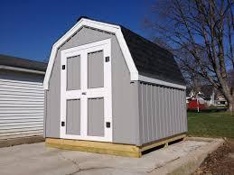 100 gambrel barn amazon com 8x16 classic wood gambrel barn