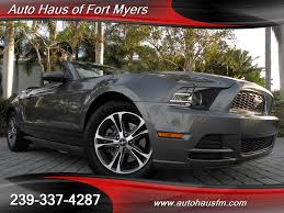 2014 ford mustang premium convertible 2014 ford mustang v6 premium convertible ft myers fl for sale in