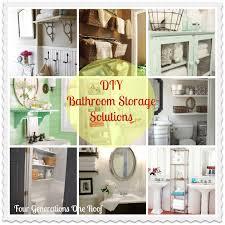 clever bathroom storage ideas our diy bathroom creative storage solutions aol real estate