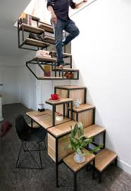 5 creative staircase ideas for tiny house rvs tumbleweed houses