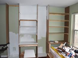 Built In Bookshelves With Window Seat Office 1 Window Seat Day Bed