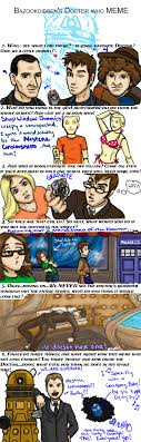 Doctor Who Meme - doctor who meme by kelly42fox on deviantart