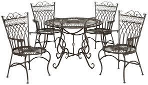 lark manor lamarre 5 piece outdoor dining set u0026 reviews wayfair