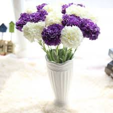 compare prices on carnations wedding bouquet online shopping buy