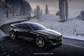 2000 Ford Mustang Black Carscoop Exclusive The All New 2015 Ford Mustang Precisely Imagined