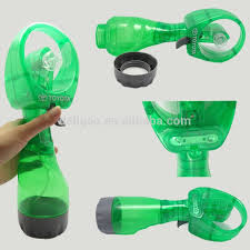 handheld misting fan wholesale portable handheld plastic water bottle spray fan buy