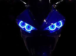 yamaha r6 halo lights sportbike lites dual ccfl headlight halo ring angel eyes kit for