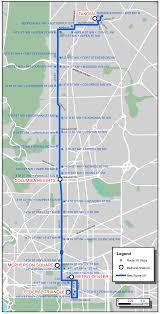 washington dc metrobus map metroextra 59 limited stop metrobus service wmata