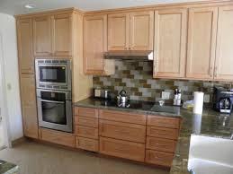design varnished wooden l shape diy kitchen cabinet stainless