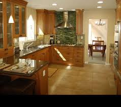 Cool Kitchen References  Pictures Of Counter Top Stained - Bamboo backsplash