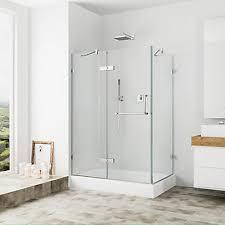 40 Inch Shower Door Vigo Vigo 32 Inch X 40 Inch Frameless Shower Stall In Clear With
